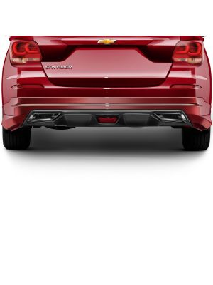 CAVALIER 2017-2016 REAR SKIRT W/DIFFUSER AND SIMULATED EXHAUST TIPS