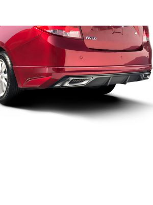 NEW AVEO / SAIL REAR SKIRT W/DIFFUSER AND SIMULATED EXHAUST TIPS