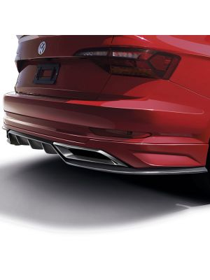 2019 JETTA A7 REAR SPOILER WITH DIFFUSER AND DECORATIVE EXHAUST TIPS