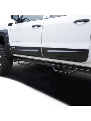 2014-2018 SILVERADO 1500/ 2016-2018 GMC SIERRA DOOR ROCKER PANELS SET CREW CAB