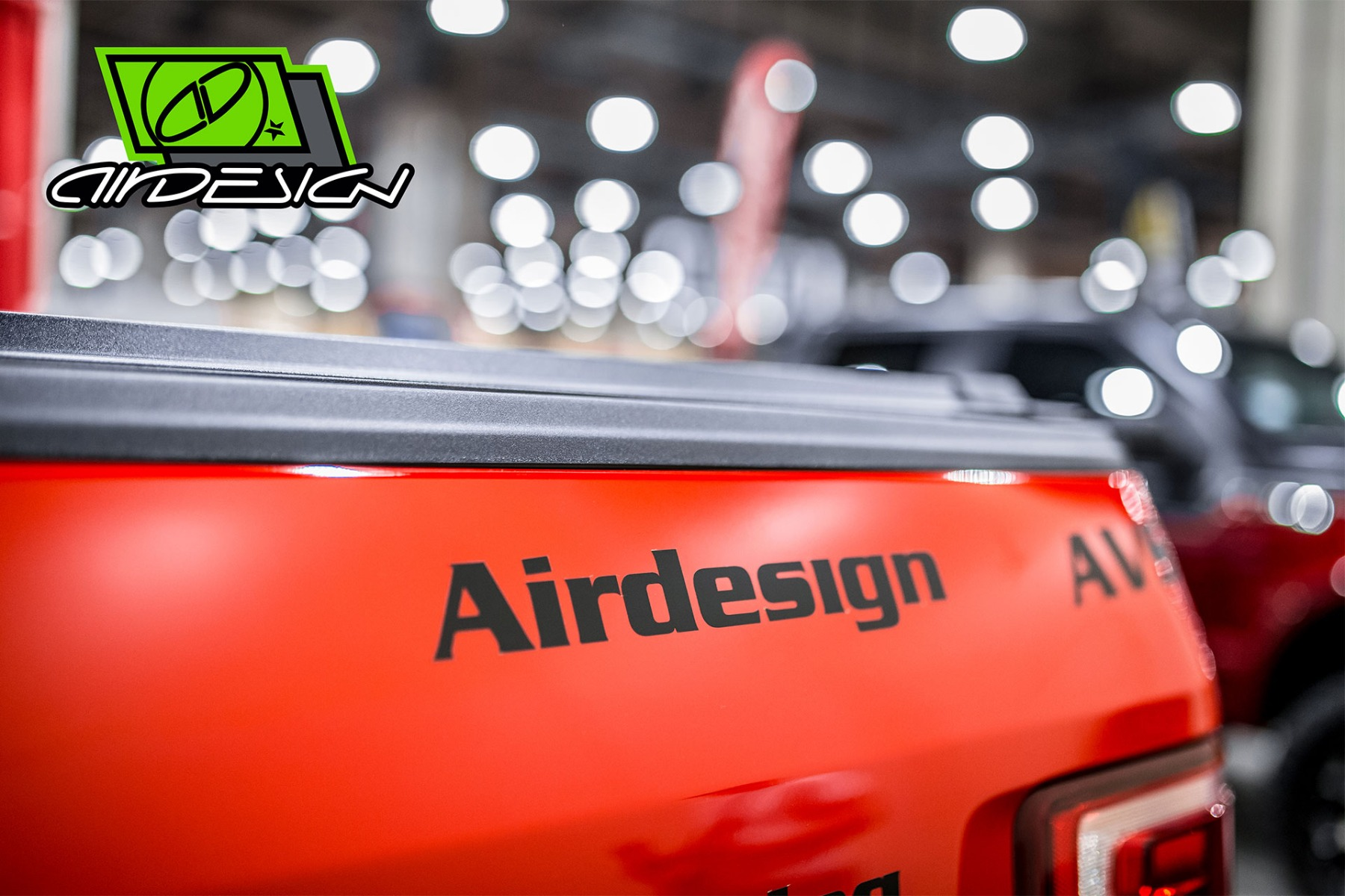 Air Design Ford F-150 Off Road Sticker