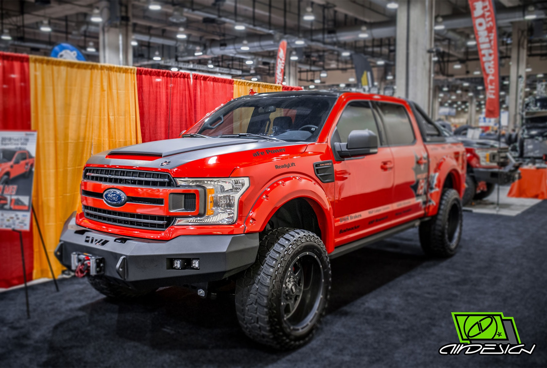 Air Design Ford F-150 Off Road Front View