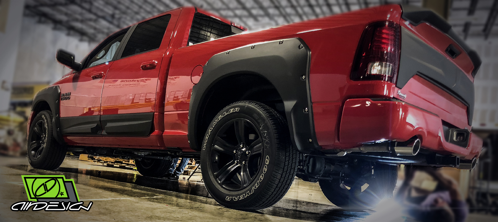Air Design Dodge Ram Off Road Full Body Kit