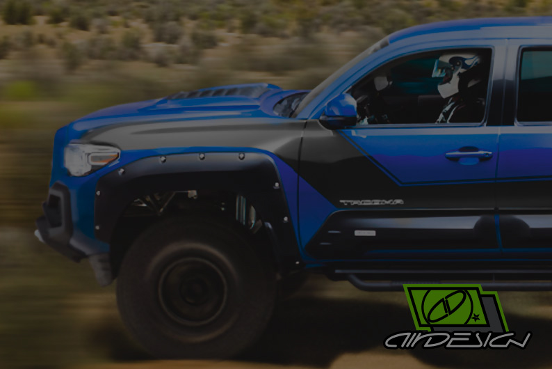 Air Design Tacoma Off Road Body Kit
